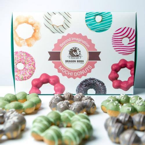 Mochi Donuts and Package